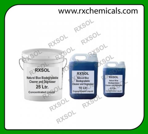 Natural Blue Biodegradable cleaner and Degreaser | RXCHEMICALS
